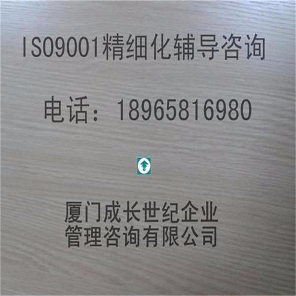 ISO9001质量管理体系bwinchina精细化培训辅导